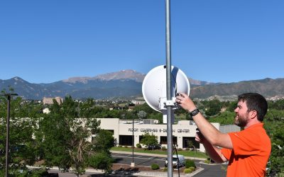 Pikes Peak Summit Complex Construction Bolstered by High-Tech Wireless Equipment